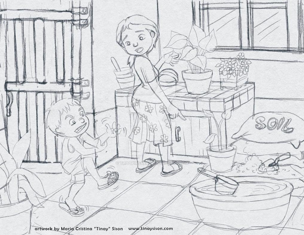 Sketch 02 by troopinfaery
