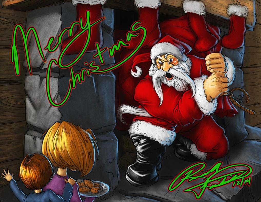 Surprise Santa! by RussFairchild
