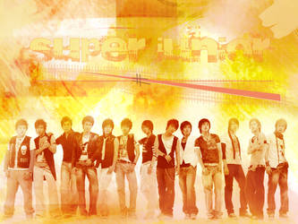 Super Junior wallpaper by HEARTBURN616