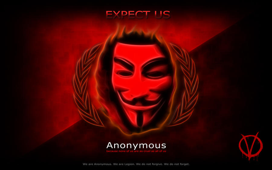 Anonymous - Expect Us by shamantrixx