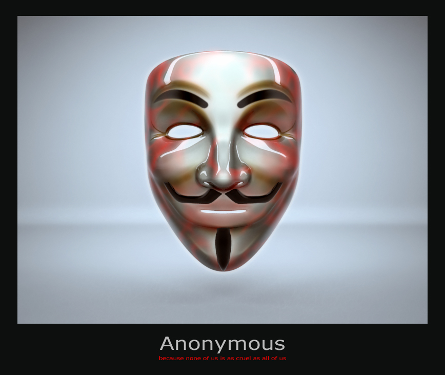 Anonymous mask by shamantrixx on deviantart - Pictures of anonymous mask ...