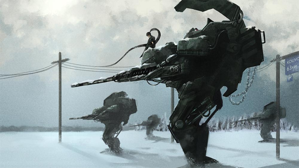Winter War II by artsiboya