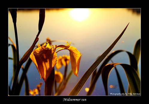 Midsummer sun