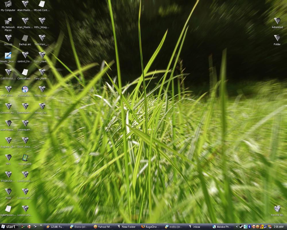 My desktop by RageOne