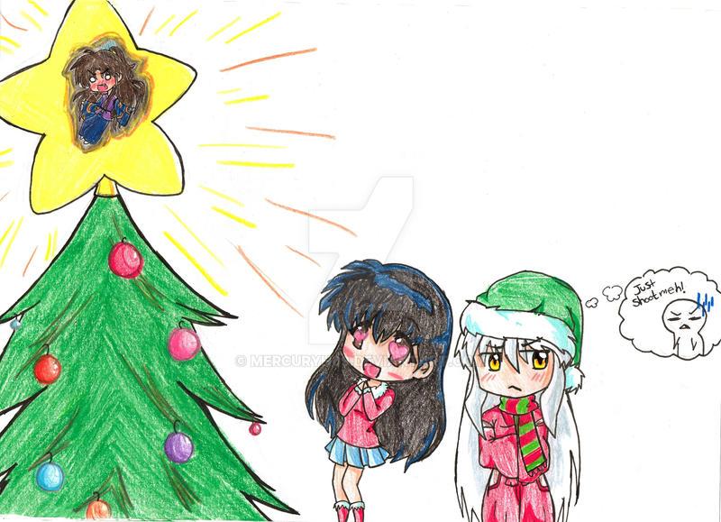 inuyasha christmas wallpaper
