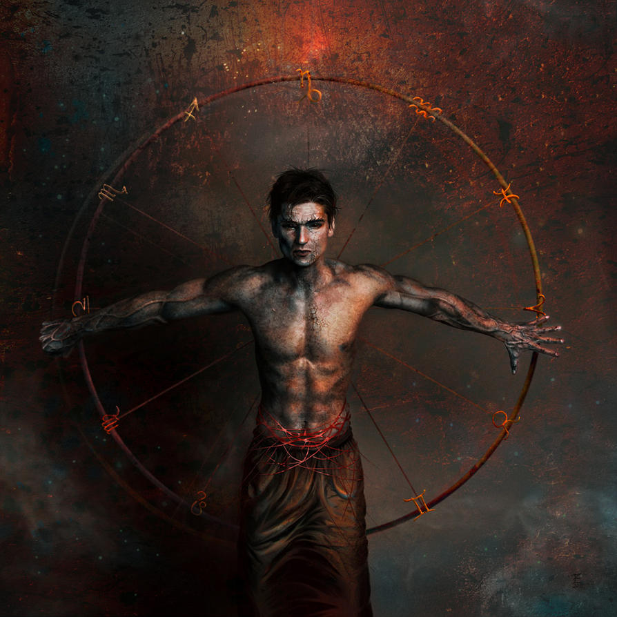 Zodiac man by Daywish