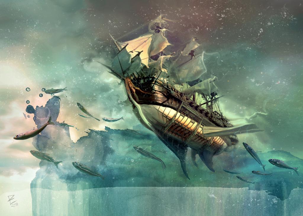 Sailing home by Daywish