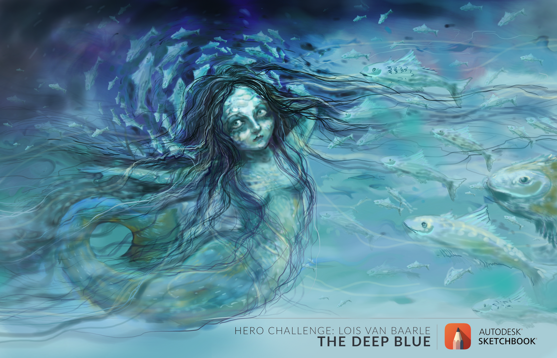The Deep Blue  by Daywish