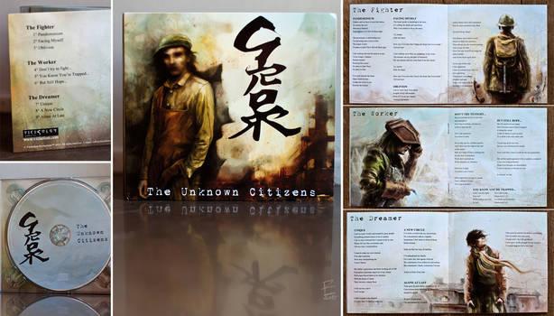 The Unknown Citizens music album - inside