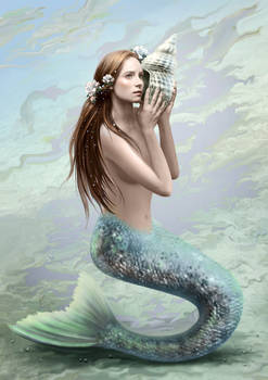 Mermaid in the daylight