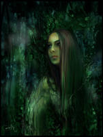 Lady of woods by Daywish