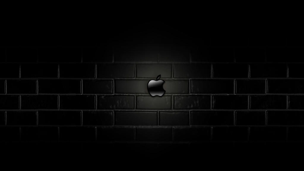 Apple Mac Wallpaper Dark by Autorby on DeviantArt