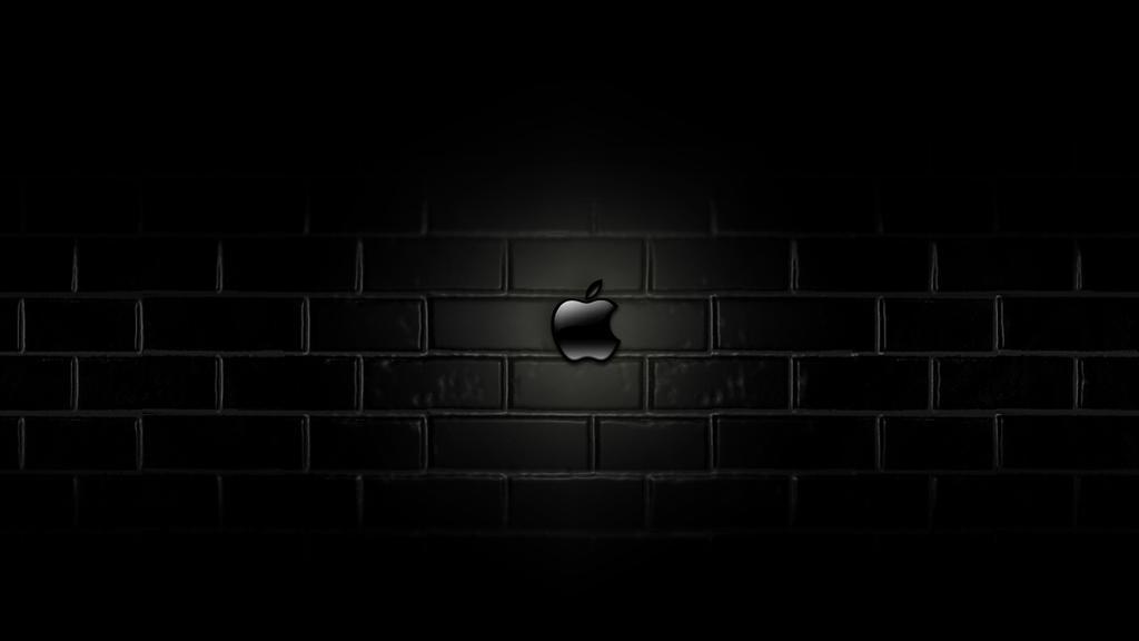 Apple Mac Wallpaper Dark By Autorby On Deviantart