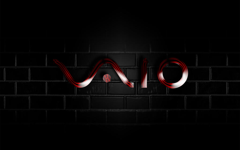 vaio red wallpaper by - photo #1