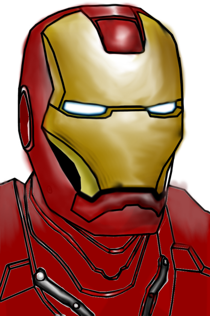 Iron Man Coloring by Billyouxan on DeviantArt