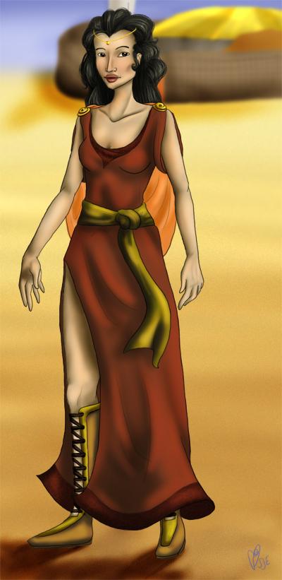 lady of the southern sands by kaleadora