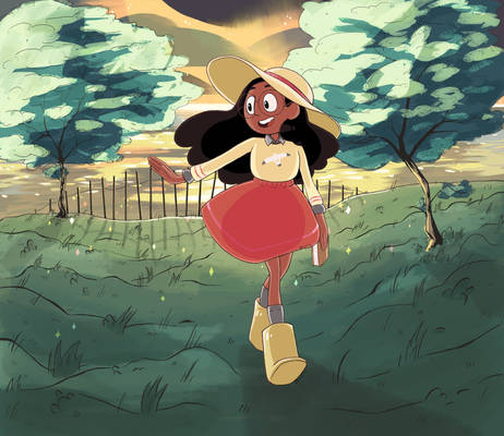 Connie at Sunset