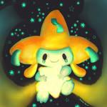 Pokemon Advent Challenge Day 9-Jirachi by MokkaQuill