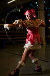Madoka's Bow-Cosplay by MokkaQuill