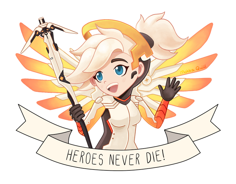 Heroes Never Die! by MokkaQuill