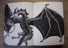 Dragon Anger by Keshyx