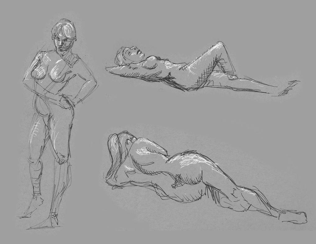 Quick studies by 0XButterzX0