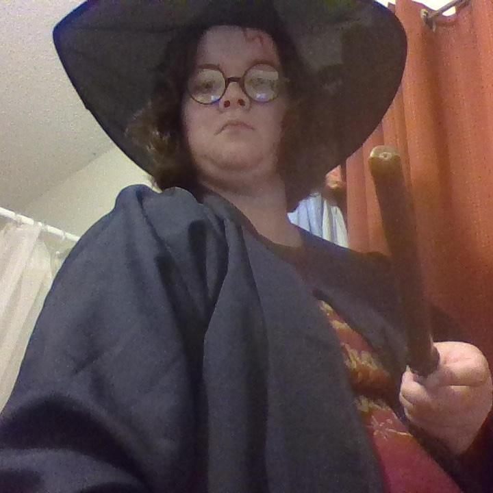 My Halloween Costume as Harry Potter