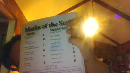 LIt SHilloutles  Magazine in 2013 by astronomywandeer1995