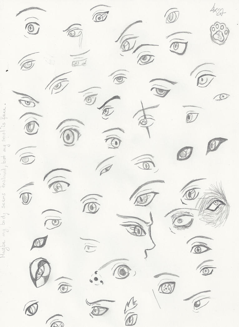 Eyes, eyes everywhere ! by LuckyWolf27