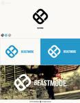 BEASTMODE   GAMING logo presentation by eldodesign