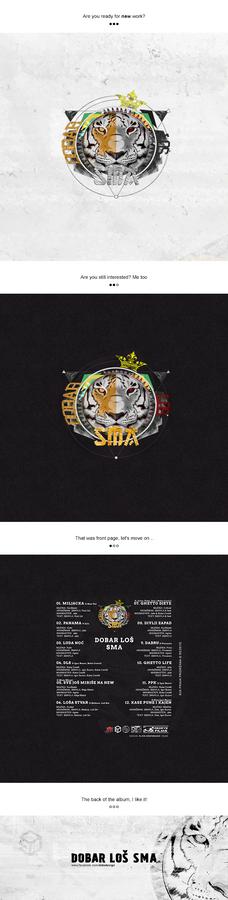 Dobar Los Sma - DLS (CD cover)