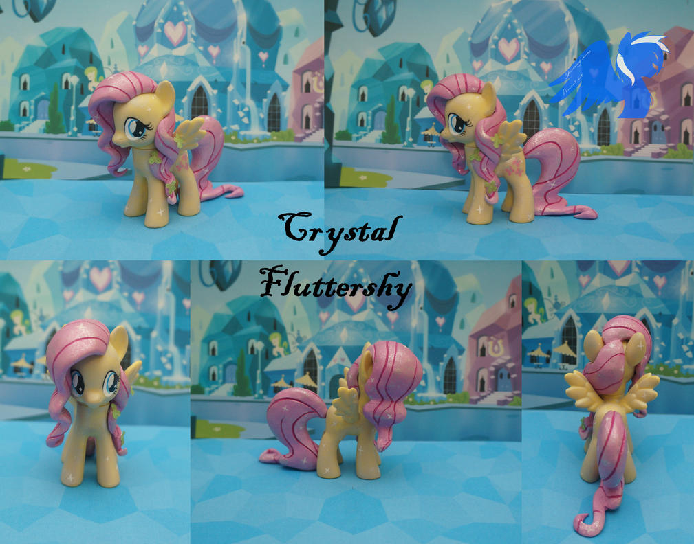 Custom crystal Fluttershy by ShiveringCanvas