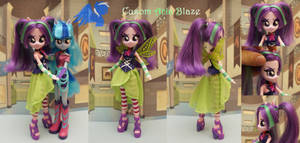 Custom Equestria girls Aria Blaze