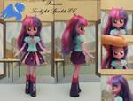 Custom Equestria girls Twilight Sparkle
