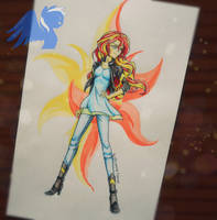 Sunset Shimmer by ShiveringCanvas