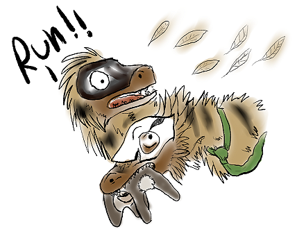 Wick: Run raptor run! by Ana-Mizuki