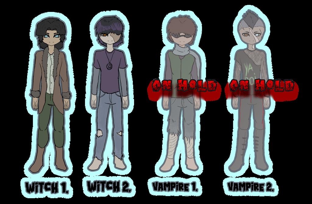 NCH: Character concept adopts by Ana-Mizuki