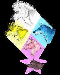 SUWolf!AU: The Diamond Authority by Ana-Mizuki
