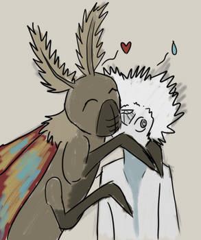 SU+G: Mothra Loves White Diamond