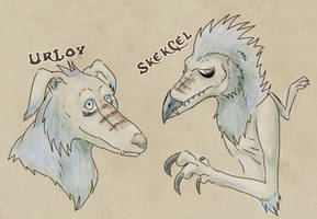Dark Crystal OC: CelLoy split
