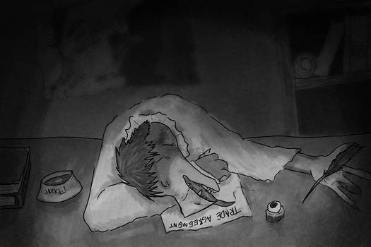 Skektember- Day 7- Tired