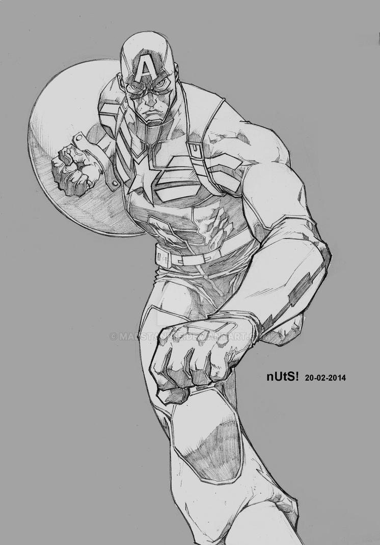 Captain America: The Winter Soldier Fan Art by madstanlee on DeviantArt