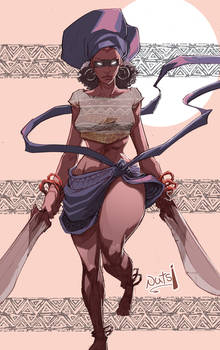 Nameless African Warrior