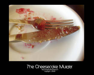 The Cheesecake Murder by raages