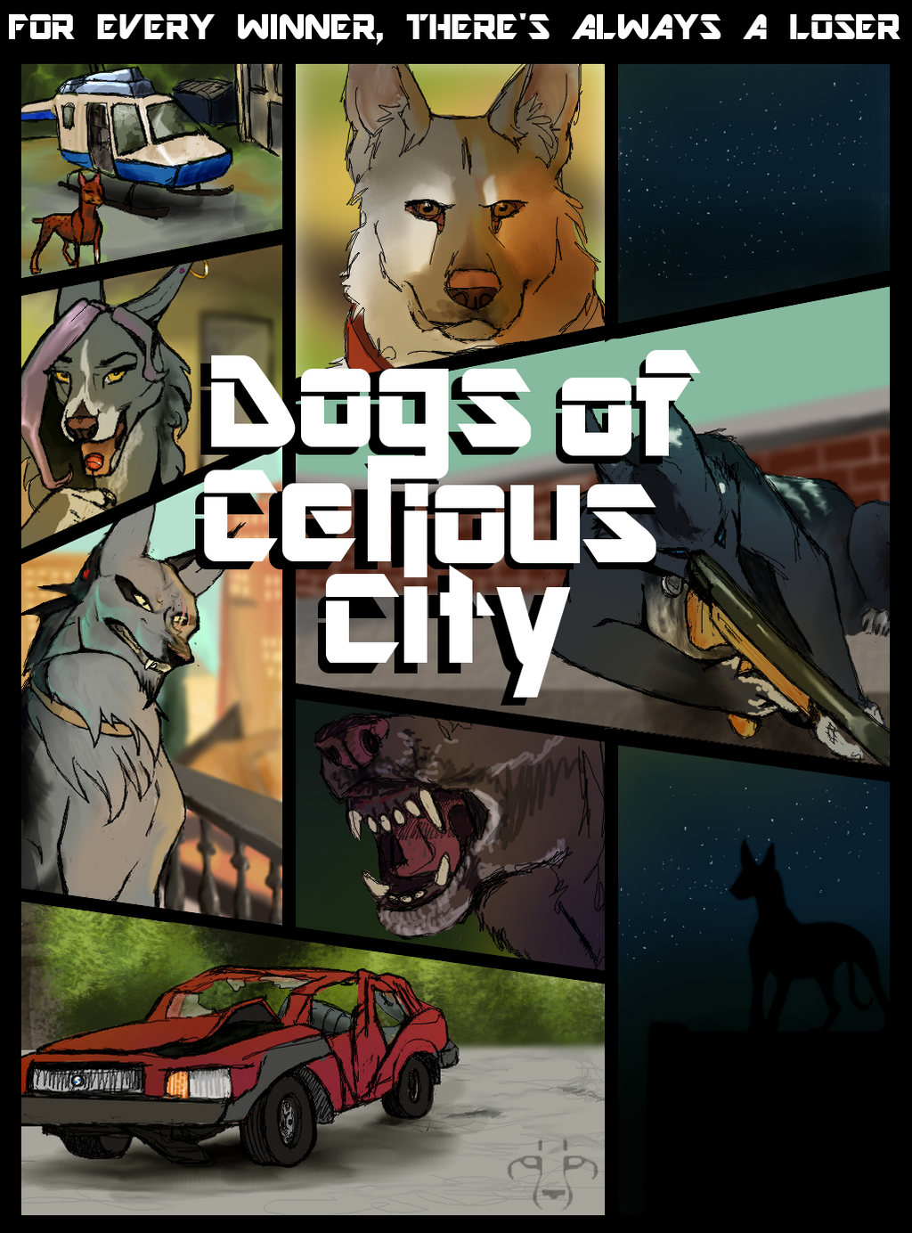 Promo: Dogs of Celious City by CheeTree