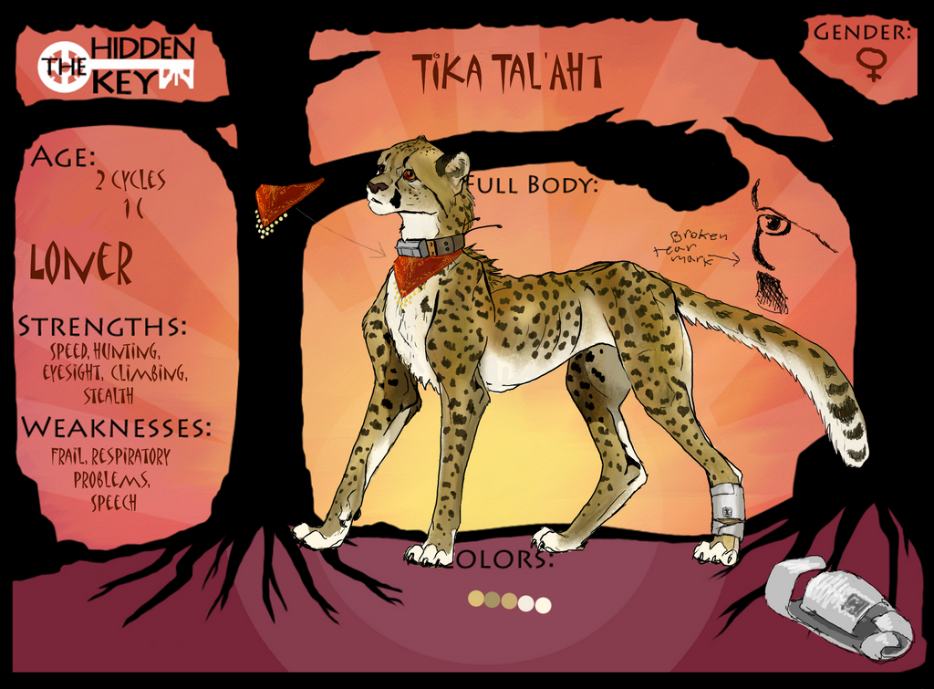 Tika Tal'Aht by CheeTree