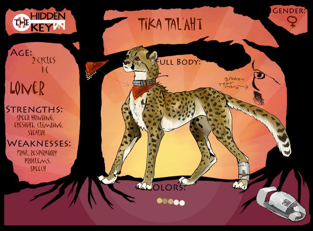 Tika Tal'Aht by CheeTree