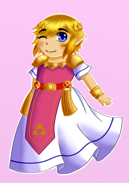 Zelda Dress, Triforce Heros by Cynder2012