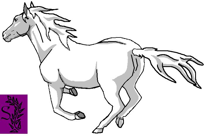 horse template 1 by Shearkin on DeviantArt