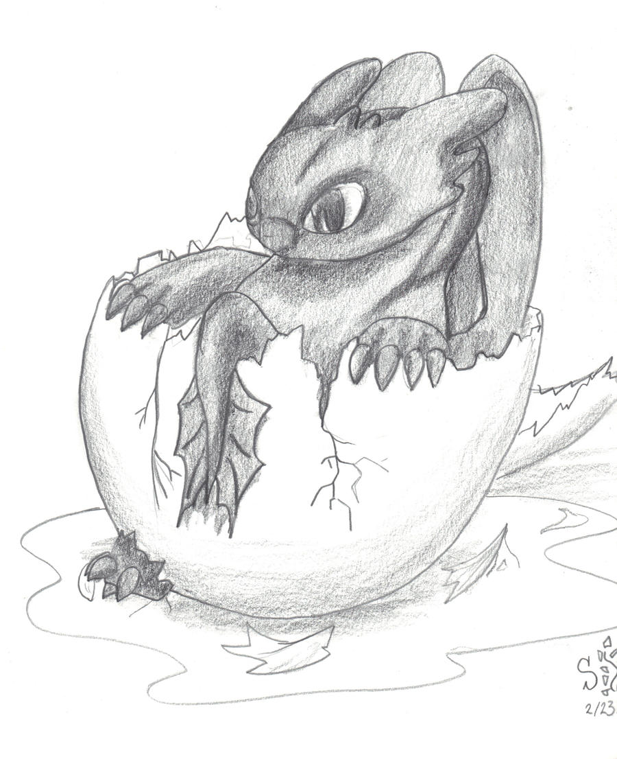 Baby Toothless by Shearkin on DeviantArt
